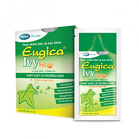Sirô Eugica Ivy Cao Lá Thường Xuân - Long đờm giảm ho - Hộp 20 gói