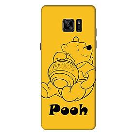 Ốp Lưng Nhựa Cứng Nhám Dành Cho Samsung Galaxy Note Fe In Hình Pooh
