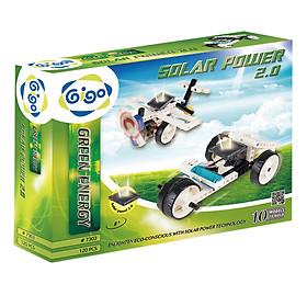 Đồ Chơi Điện Mặt Trời - Sản Xuất Điện Từ Tấm Pin Mặt Trời Gigo Toys 7303 (120 Mảnh Ghép)