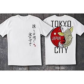 ( Best seller) Áo thun nam nữ tokyo city có bigsize