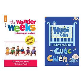 Combo sách tuần khủng hoảng và Nuôi Con Không Phải Là Cuộc Chiến - Chào Con Em Bé Sơ Sinh tặng cuốn sách rèn luyện kĩ năng cho bé