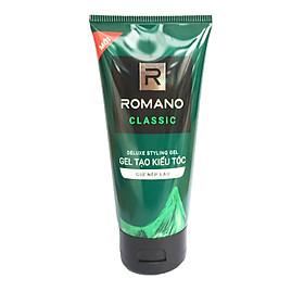 Gel vuốt tóc Romano Classic giữ nếp lâu mềm tóc 150g-Mẫu mới