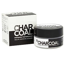Bột đánh răng than hoạt tính Superdrug Activated Charcoal Tooth Powder 32g