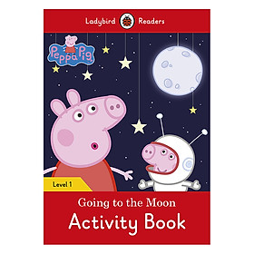 Peppa Pig Going to the Moon Activity Book - Ladybird Readers Level 1 (Paperback)