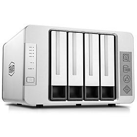 Bộ lưu trữ mạng NAS TerraMaster F4-210 Quad-core CPU, 2GB RAM, 4 khay ổ cứng RAID 0,1,5,6,10,JBOD,Single - Hàng chính hãng