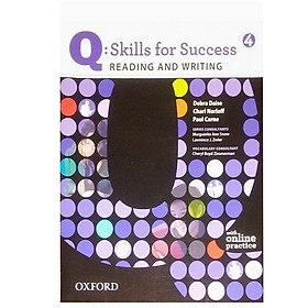Q Skills for Success Level 4 : Reading and Writing (Student Book with Online Practice)