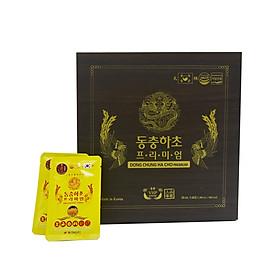 Tinh chất Đông trùng hạ thảo cao cấp Hàn Quốc - Hộp 60 túi (Daedong Korea Dong Chung Ha Cho Premium)