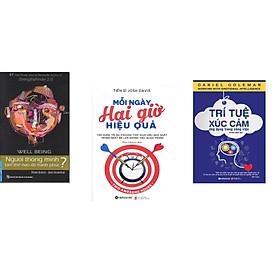 Combo 3 cuốn sách: Người Thông Minh Làm Thế Nào Để Hạnh Phúc? + Mỗi ngày hai giờ hiệu quả  + Trí Tuệ Xúc Cảm Ứng Dụng Trong Công Việc