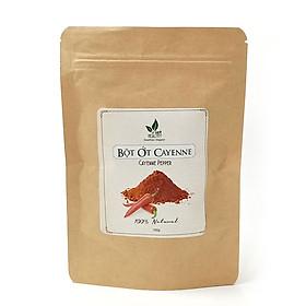 Bột ớt Cayenne Pepper Viet Healthy 100g, bột ớt Viet Healthy nguyên chất giúp giảm đau, cải thiện tuần hoàn máu, nâng cao miễn dịch