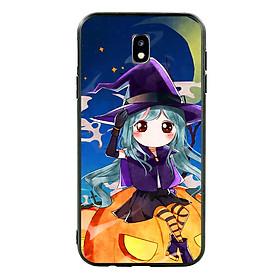 Hình đại diện sản phẩm Ốp lưng Halloween viền TPU cho điện thoại Samsung Galaxy J7 Pro - Mẫu 04