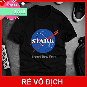 Áo thun Tony Stark cho nam đẹp siêu ngầu