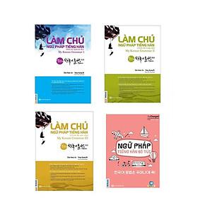 Combo Làm Chủ Ngữ Pháp Tiếng Hàn ( sơ cấp + trung cấp + cao cấp) và Ngữ pháp tiếng Hàn bỏ túi