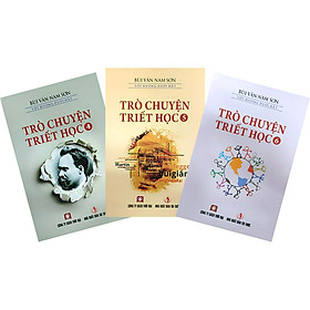 Combo 3 Cuốn: Trò Chuyện Triết Học Tập 4,5,6 (Tái Bản)
