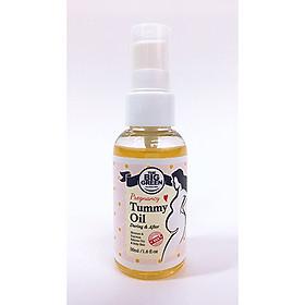 Dầu chăm sóc da bị rạn cho phụ nữ Biggreen Pregnancy Tummy Oil (50ML) BG011