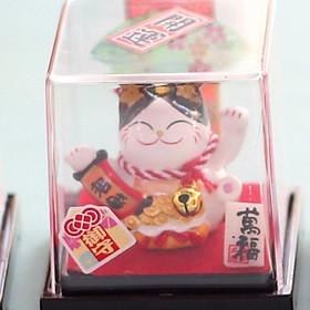 Mèo Thần tài Jinshi ngồi Hộp cỡ nhỏ 6cm - 6 mẫu