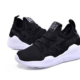 Giày thể thao màu đen phong cách và cá tính cho bé trai và bé gái GB03