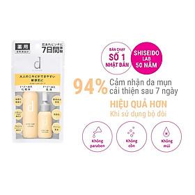 Bộ sản phẩm dùng thử chăm sóc và cải thiện da mụn d program Acne Care Set (Lotion 23ml, Emulsion 11ml)