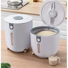 Thùng đựng gạo thông minh tinh tế 12kg cho căn nhà bạn