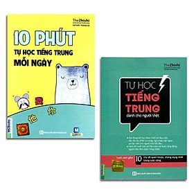 Combo 2 cuốn: 10 Phút Tự Học Tiếng Trung Mỗi Ngày + Tự học tiếng Trung dành cho người Việt