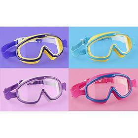 Kính bơi trẻ em Coosa 958 thiết kế Panorama, không gọng, chống sương, chống tia UV - VivaSports