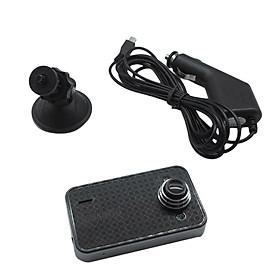 K6000 Car DVR Camera 2.3 Inch Video Dash Cam Recorder 90°View Angle Camcorder