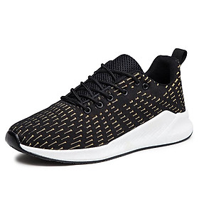 Omengi 2020 Fashion men outdoor breathable black soft running sneakers casual sport shoes