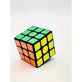 Đồ chơi RUBIK dạng 3x3 viền đen EQY609 - Đồ chơi giáo dục