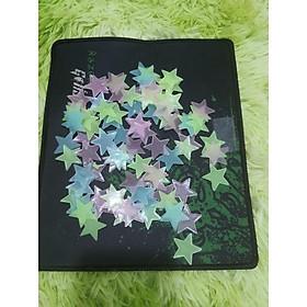 Combo 100 ngôi sao dạ quang dán tường phát sáng trong tối
