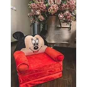 Ghế lười 3 nấc 2 trong 1 vừa nằm vừa ngồi Minnie