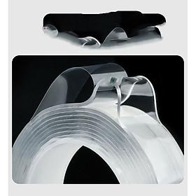 Băng Keo Nano 2 Mặt Siêu Dính Cường Lực ( Dày 2mm, Rộng 3cm, Dài 3 mét)