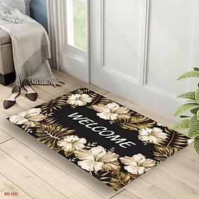 Thảm chùi chân, Thảm lau chân bali in 3d chống trơn trượt cao cấp kích cỡ 40x60cm dành cho nhà tắm, phòng ngủ, cửa ra vào, phòng khách đều đẹp, giá siêu rẻ