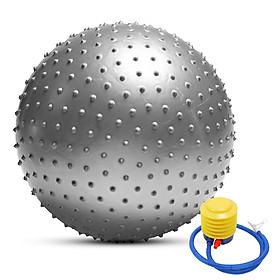 Anti-burst Yoga Ball Thickened Stability Balance Ball Pilates Physical Fitness Exercise Ball 55CM / 65CM / 75CM Gift Air