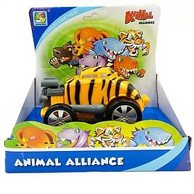 Đồ Chơi Siêu Xe Biến Hình Hổ Preschool KD-8815D