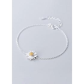 Lắc Tay Nữ | Lắc Tay Nữ Bạc S925 Hoa Cúc L2511 - Bảo Ngọc Jewelry