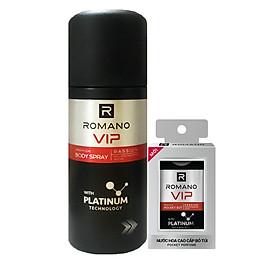Combo Vip Passion: Xịt ngăn mùi hương nước hoa 150ml+ Nước Hoa bỏ túi 18ml