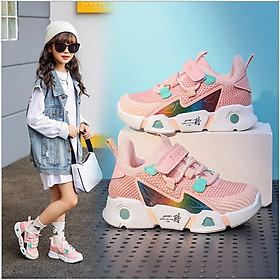 Giày thể thao bé gái siêu nhẹ cao cấp_TT332