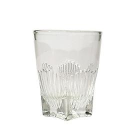 Bộ 12 Ly Thủy Tinh Uống Rượu, Uống Trà Đáy Ngôi Sao CAMDACO (30ML)
