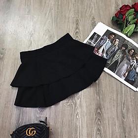 Chân váy ngắn xòe 2 tầng trẻ trung