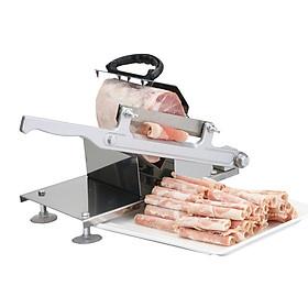 Dao cắt thịt đông lạnh, cắt xương gà vịt heo INOX FD00093 - BẢN ĐẶC BIỆT