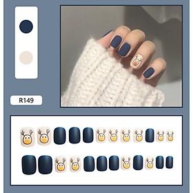 Bộ 24 móng tay giả nail thơi trang như hình (R-149)