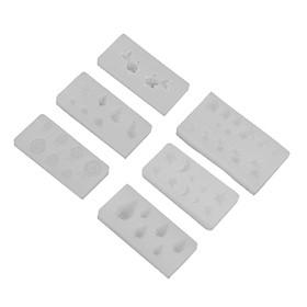 6 3D Khuôn Silicon Cho Móng Tay Nghệ Thuật Trang Trí, Trang Sức Phát Hiện Phụ Kiện Tự Làm Đồ Thủ Công, tải Trọ