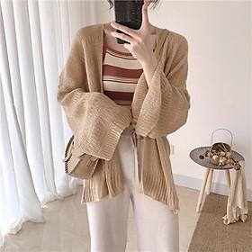Áo cardigan lưới mỏng phong cách Hàn Quốc