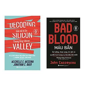 Combo Sách Quản Lý Thời 4.0: Giải Mã Bí Ẩn Thung Lũng Silicon + Máu Bẩn