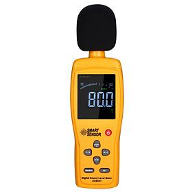 SMART SENSOR AS834+ Digital Sound Level Meter Digital Noisemeter LCD Sound Level Meter 30-130dB Noise Volume Measuring