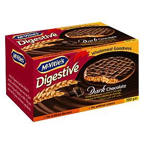 Hình đại diện sản phẩm Bánh Mcvitie's Digestive Dark Chocolate (200g)