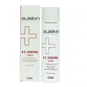 Nước hoa hồng dưỡng da trị mụn Suiskin A.C.Control Toner 150ml