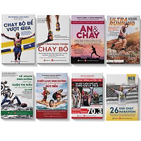Sách-combo 8 cuốn chạy bộ-dinh dưỡng