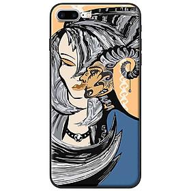Hình đại diện sản phẩm Ốp lưng dành cho iPhone 7 Plus mẫu Cô gái, linh dương