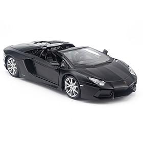 Mô Hình Xe Lamborghini Aventador LP700-4 Roadster Black 1:24 Maisto MH-31504