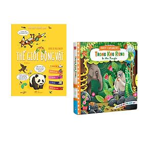 Combo 2 cuốn Hỏi đáp cùng em - Thế giới động vật +